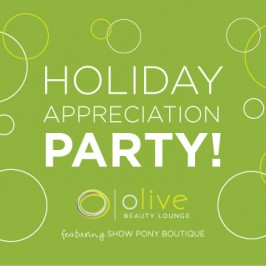 Join Us for a Holiday Appreciation Party!